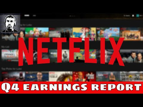 (NFLX) Netflix Stock 📉Drops 4% On Q4 Earnings | Time To Sell?