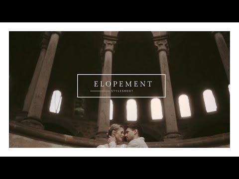 Elopement Wedding - Styleshooting