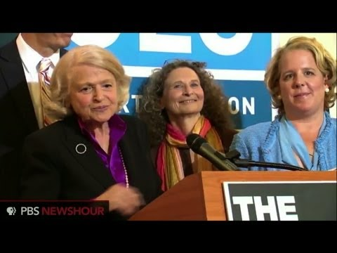 Watch Edith Windsor's Remarks on DOMA Ruling