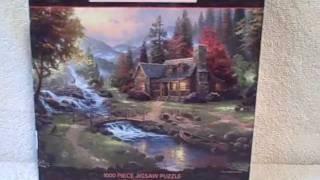 Thomas Kinkade 1000 Piece Jigsaw Puzzle used VGC