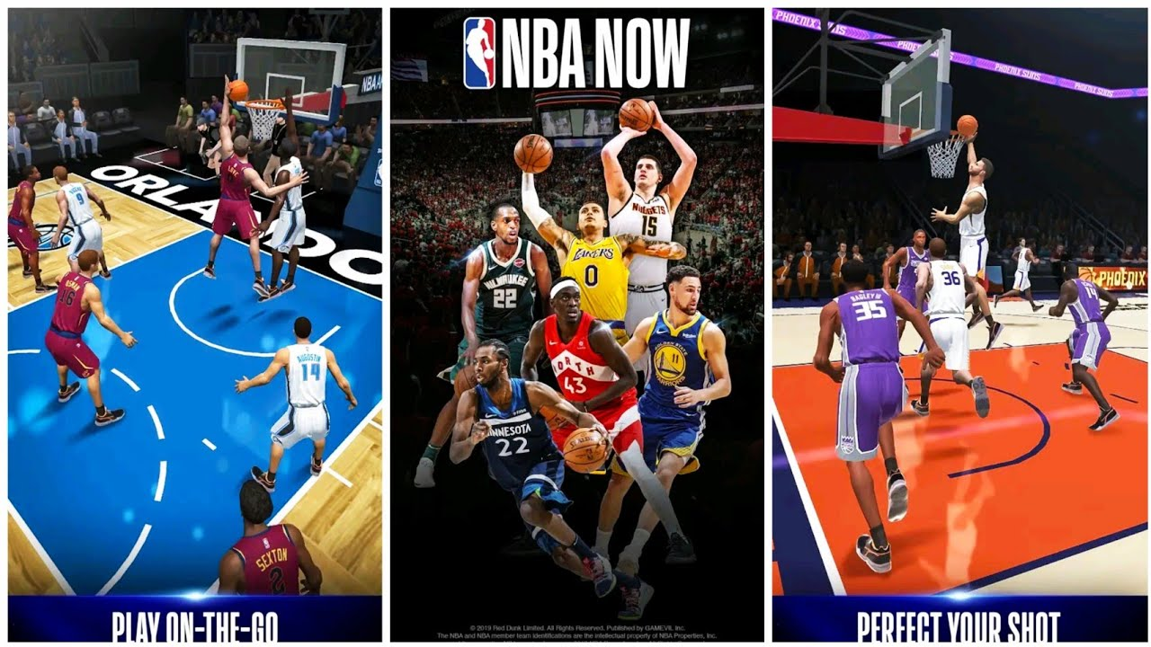 NBA NOW Mobile Basketball Game Gameplay + Review|Latest Android Games|