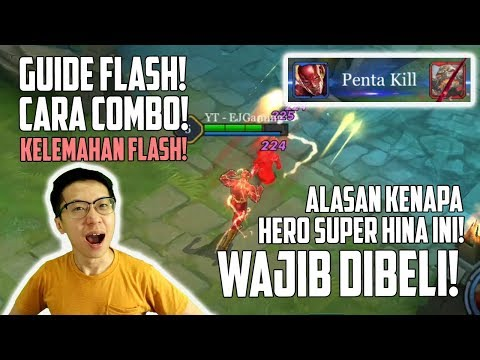 Wajib PUNYA! Super Hero SUPER OVERPOWER di AOV Auto Penta KILL! Tips & Trick Flash!