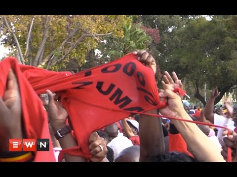 Anti-Zuma protest shut down COSATU's workers day celebrations