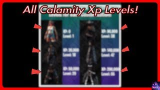 Calamity Skin XP To Levels! (XP Milestone Converter) Fortnite Bataille Royale