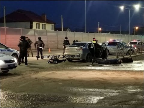 Гумрак 10.03.2019. Задержание четверых убийц попало на запись камеры видеонаблюдения.