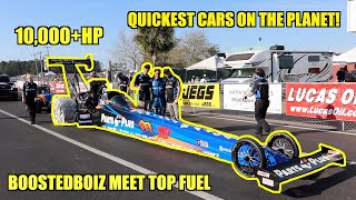 We Got To Be Part Of A TOP FUEL DRAGSTER Team! 0-300Mph in under 4 Seconds!