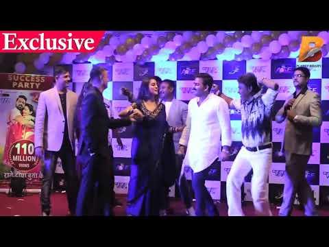 FULL HD VIDEO # राते दिया बुता के Party | Pawan Singh , Nirhuaa , Kalluaa, Akshra Singh , Monalisa