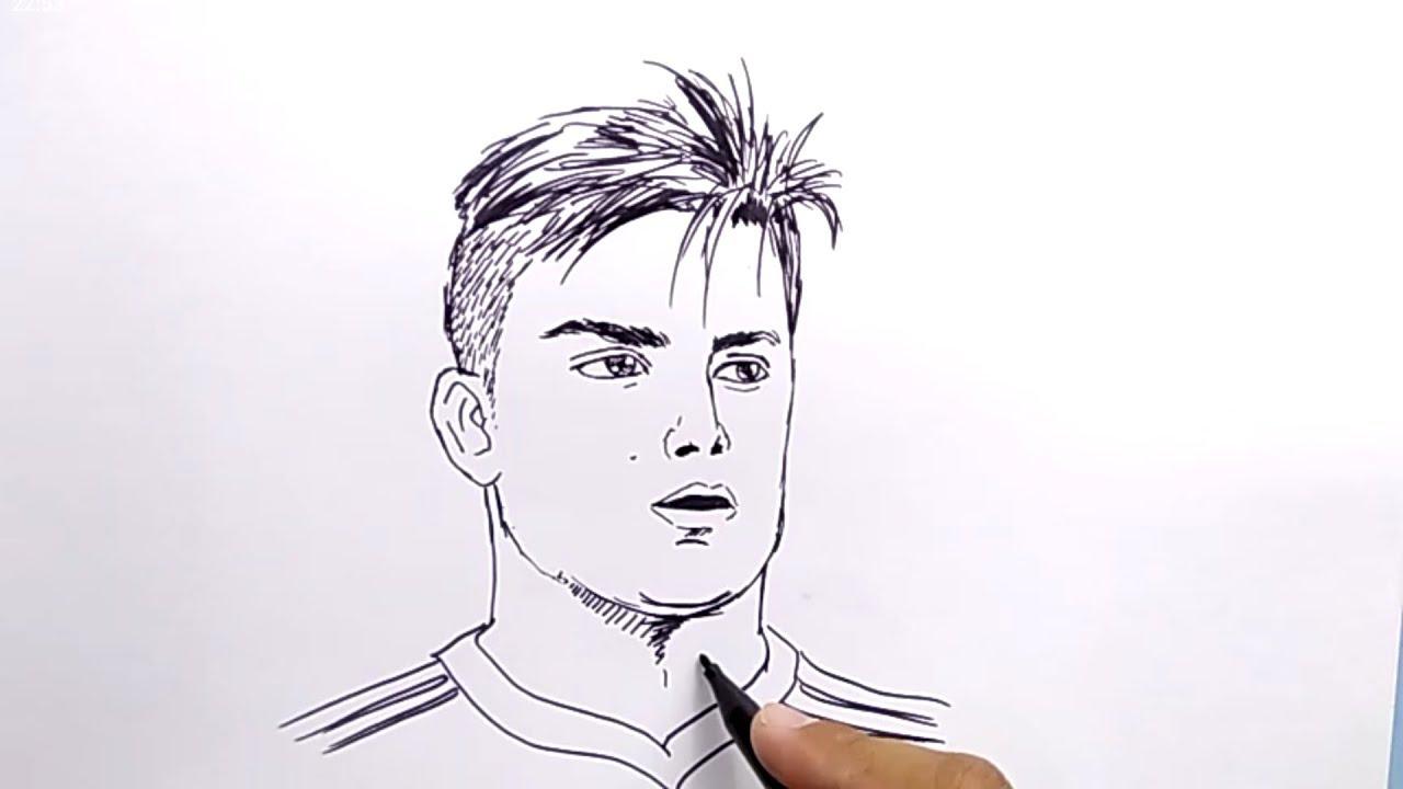 VERY EASY !, How to draw DYBALLA / NO PENCIL, NO ERASER ...