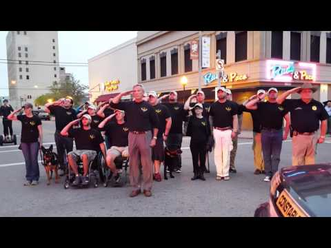 Taps by Guy Taylor with Wounded Veterans Retreat Program Galveston, TX