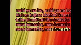 | Kisi Raah Mein Kisi Mod Par | Karaoke for Female Singers | Male Voice Baljit Narwal |