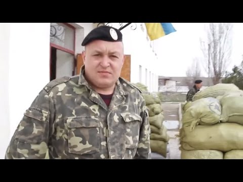 Ukraine War - Former marine joins his unit encircled by Russian troops in Crimea Ukraine