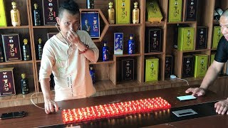 Kung Fu Master Uses Ear To Blow Out 120 Candles!