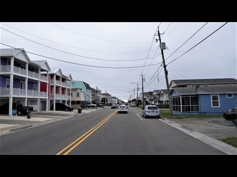 Kure Beach, NC - Drive To North Carolina Aquarium At Fort Fisher