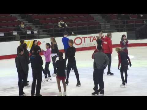Tessa and Scott CTNSC17 Gala Practice 1