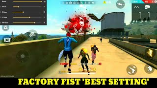 Freefire factory fist fight - Factory Amazing gameplay - factory funny - ff best game - roof - king