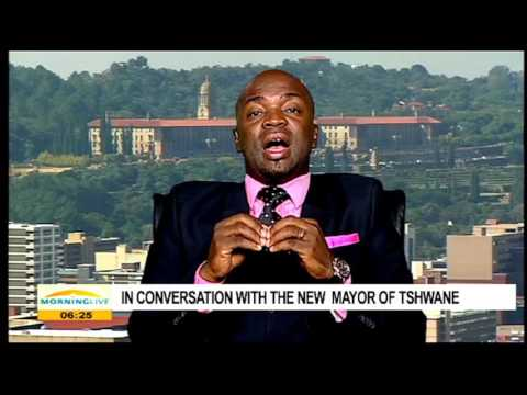 In conversation with the new mayor of Tshwane