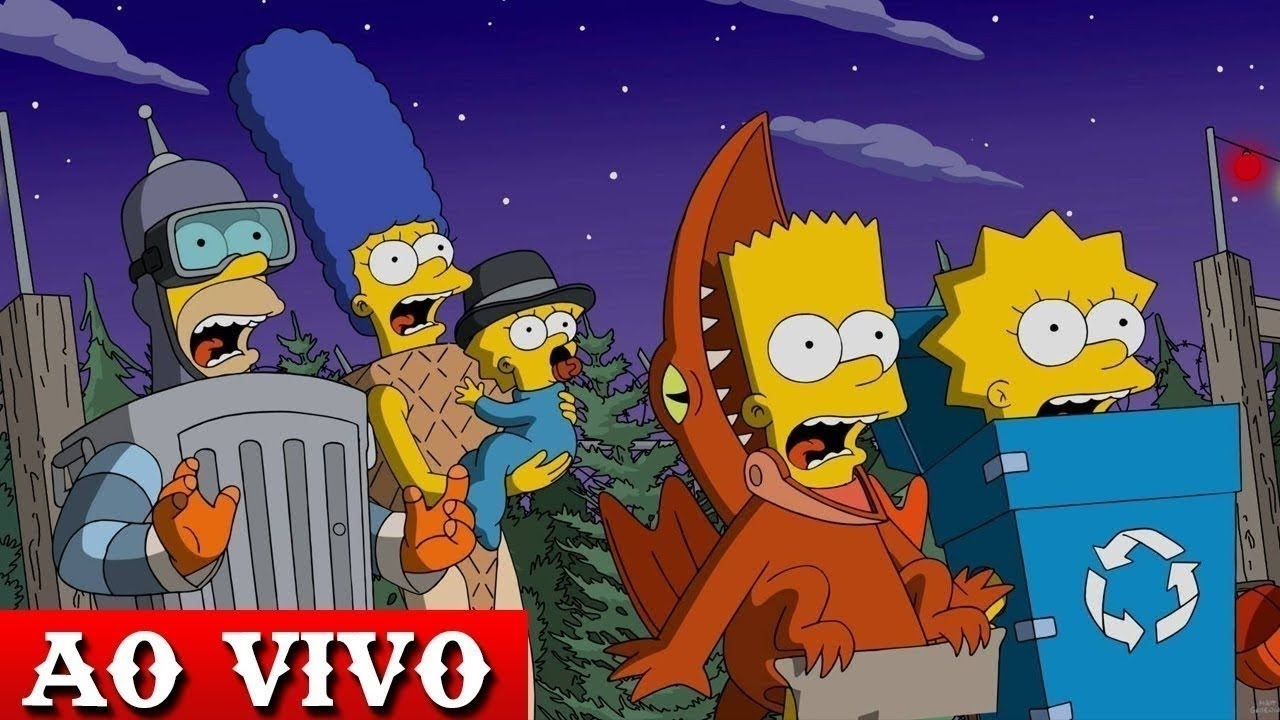 Download 🔴 Os Simpsons Ao Vivo FULL HD - 24 HORAS🏡🖤🌟 BATE PAPO