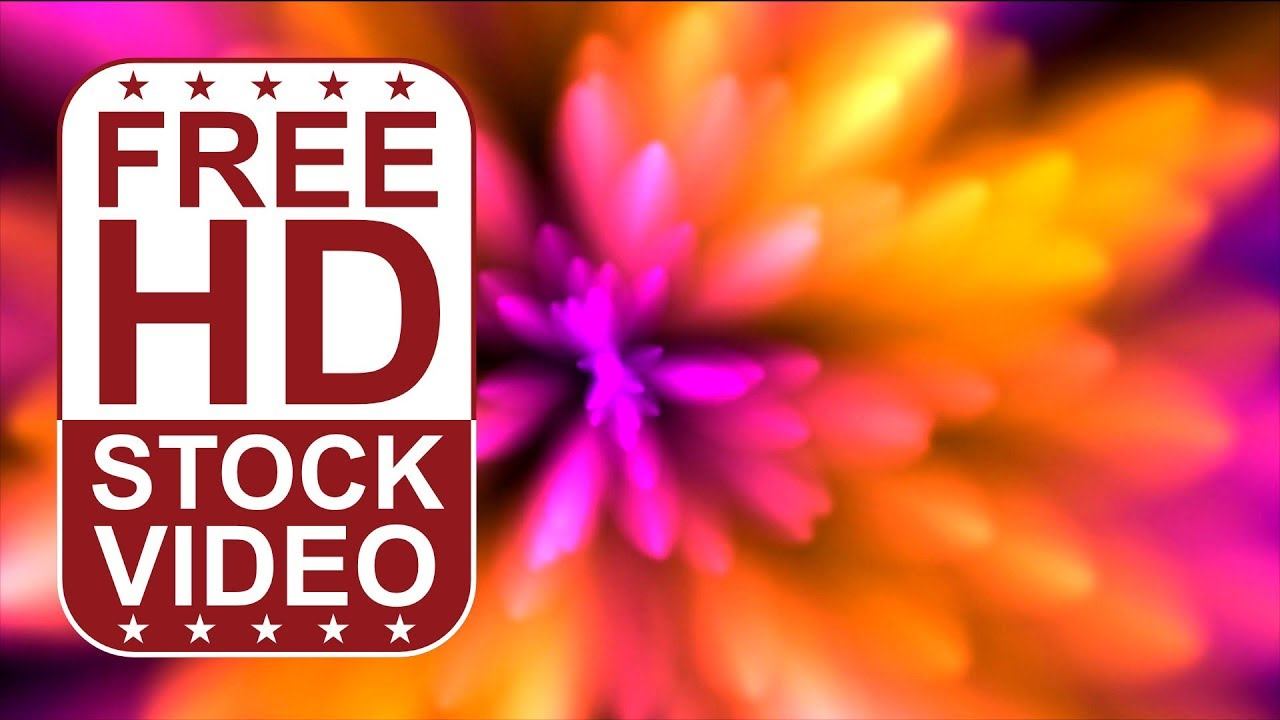 FREE HD video backgrounds abstract animated colorful background