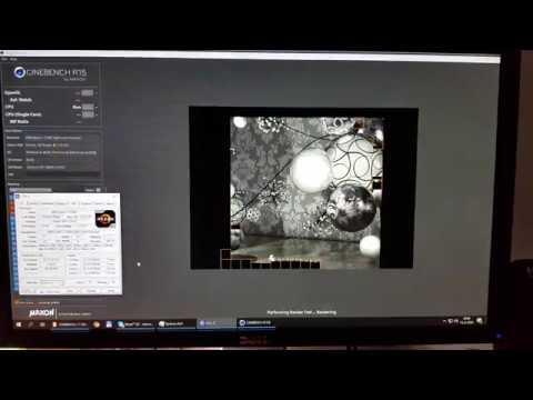 AMD Ryzen 7 2700X stock - CINEBENCH R11 5 @ CINEBENCH R15