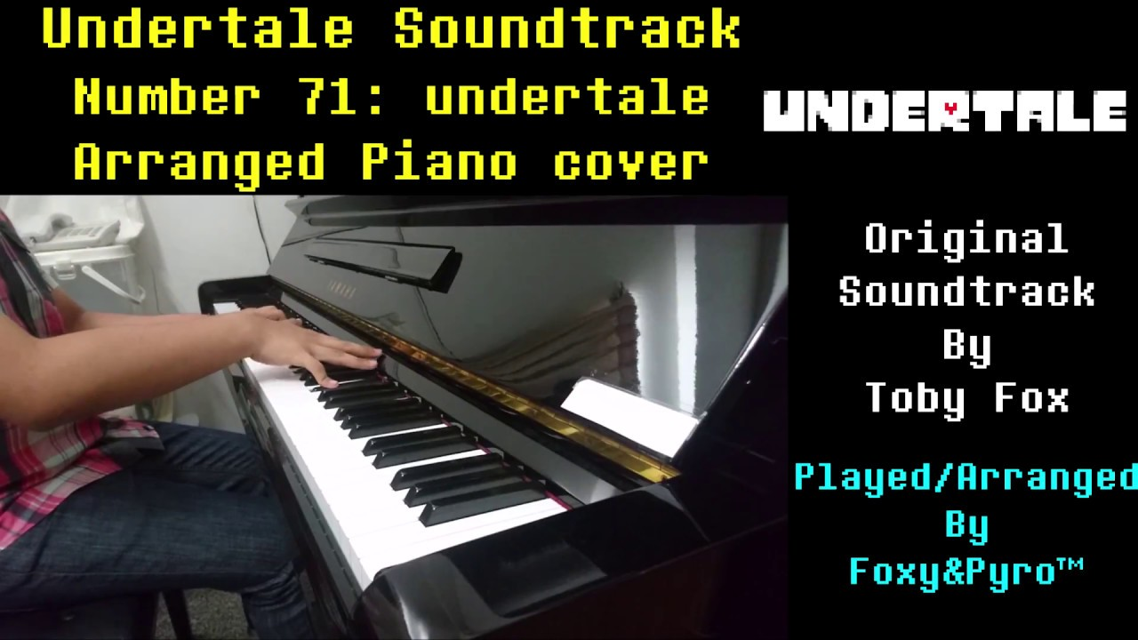 Undertale OST#71: Undertale (Piano cover, Full song) Chords - Chordify