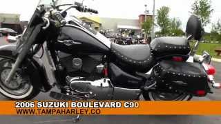Used 2006 Suzuki Boulevard C90t With Cobra Exhaust Motorcycle For Sale Florida Alabama