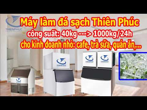 Supply clean ice machine in HCMC, sell clean ice machine at thien hat coffee - 0908859573