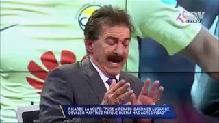 Ricardo La Volpe hablando de Táctica
