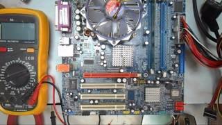 ремонт компьютеров . пробный запуск материнки(, 2016-07-18T06:21:59.000Z)