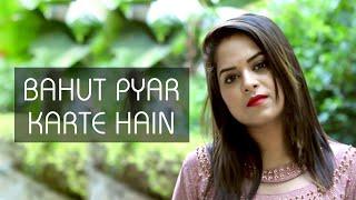 Bohat Pyar Karte Hain - Female Cover | Amrita Nayak | Saajan | 90's Romantic Song