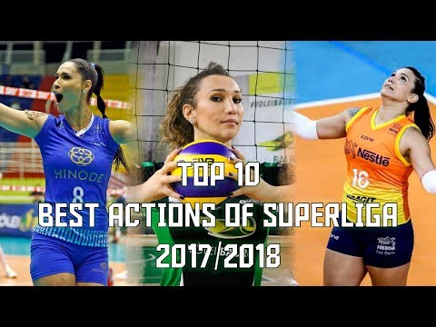 Top 10 Best Actions Of Superliga 17/18 By Danilo Rosa
