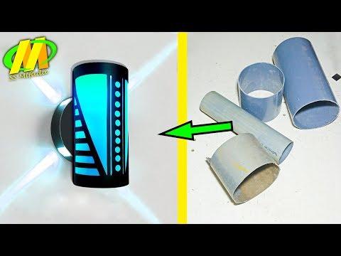 Inovasi ❤️ (Lampu dinding dari pipa pvc)