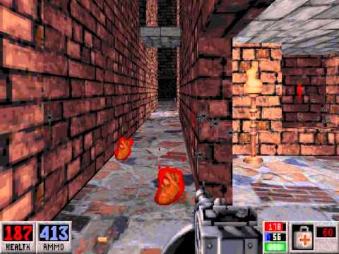 Let's Play Blood (Dosbox) (Well Done) E6M5 The Ruined Temple