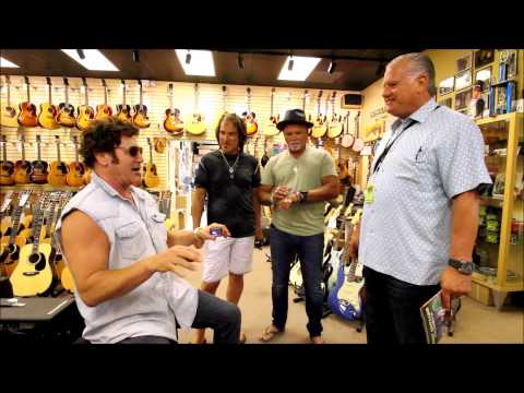 Frank Stallone goes crazy at Norman's Rare Guitars