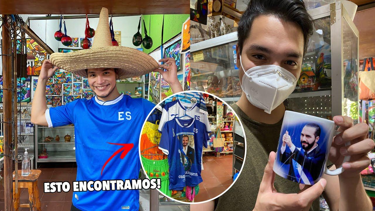 Visitamos el MERCADO de ARTESANÍAS más GRANDE de El Salvador 🎎🇸🇻