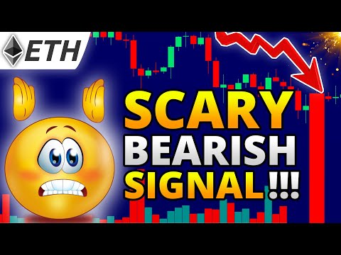 ETHEREUM Price Prediction: EMERGENCY!!! Bearish SIGNAL for ETH?! // Daily Crypto Technical Analysis