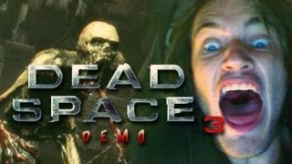 JUMPSCARES EVERYWHERE! - Dead Space 3 - Part 1 (Demo) w/ Heartbeat Monitor