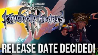 KINGDOM HEARTS 3 - RELEASE DATE DECIDED!