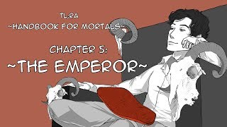 Handbook for mortals ch5: even the main love interest can't fathom madness