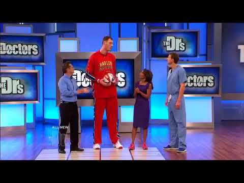 7Ft 7 Paul Sturgess appearance on The Doctors - YouTube