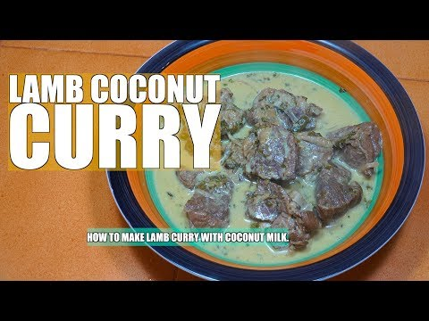 How to make Lamb Curry - Lamb Coconut Curry - Lamb Masala - Mutton Curry -