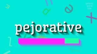 Download lagu How to saypejorative MP3