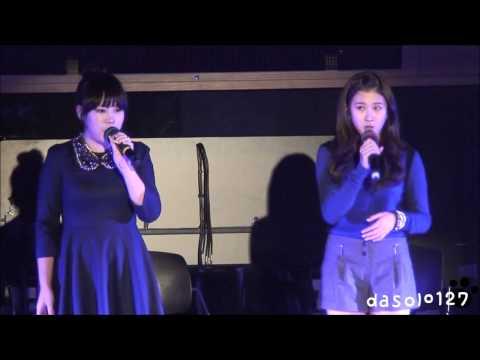 121017 Sukira 앞마당콘서트 15& - Put it in a love song