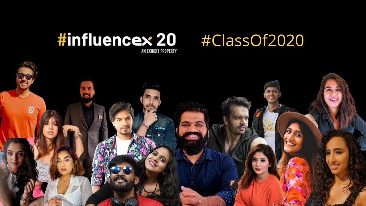 InfluencEx20 | Top Digital Influencers I Class of 2020