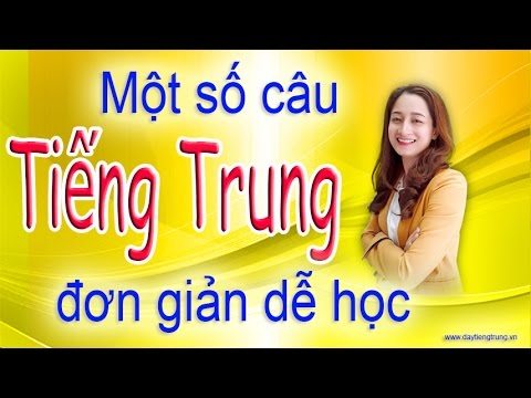 Học tiếng Trung - Chào hỏi + mời đi uống cà phê bằng tiếng Trung.