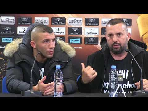 AVNI YILDIRIM & AHMET ONER REACT TO 3RD ROUND KNOCKOUT DEFEAT TO CHRIS EUBANK JR