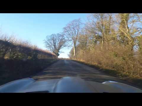 Jaguar etype Lincolnshire blue stone heath