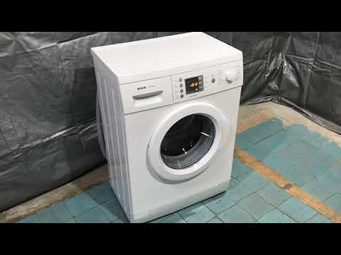 Самая узкая стиральная машина Bosch!!! WLX24440 Silence Perfect ( 40 сантиметров в глубину )