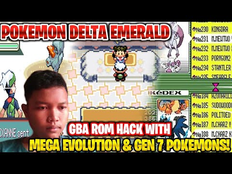 POKEMON DELTA EMERALD (COMPLETED) GBA ROM HACK WITH MEGA EVOLUTION, GEN 7 & MORE!