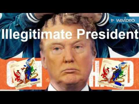 Donald Trump' Illegitimate President by Delray (Official Music Video)