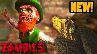 SECRET LEPRECHAUN BOSS & ALL SECRET CAMOS EASTER EGG GUIDE! (NEW WW2 Zombies Easter Egg)